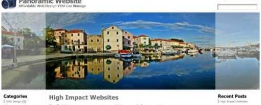 Panoramic Website